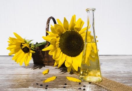 Haltbarkeit von Sonnenblumenöl