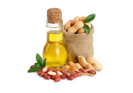 Testen Sie Erdnussöl