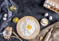 Butter, Margarine oder Olivenöl zum Backen