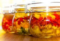 Olivenöl zum Einlegen von Gemüse