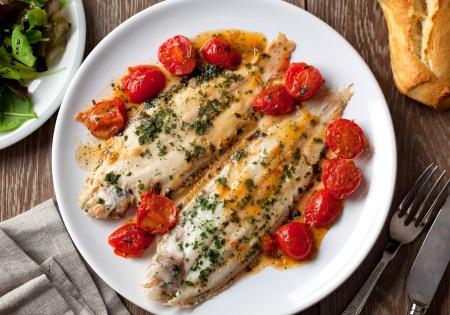 Omega 3 Fettsäuren in Seefisch