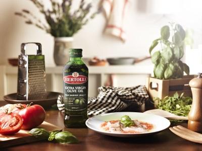 Carapccio mit Bertolli Olivenöl